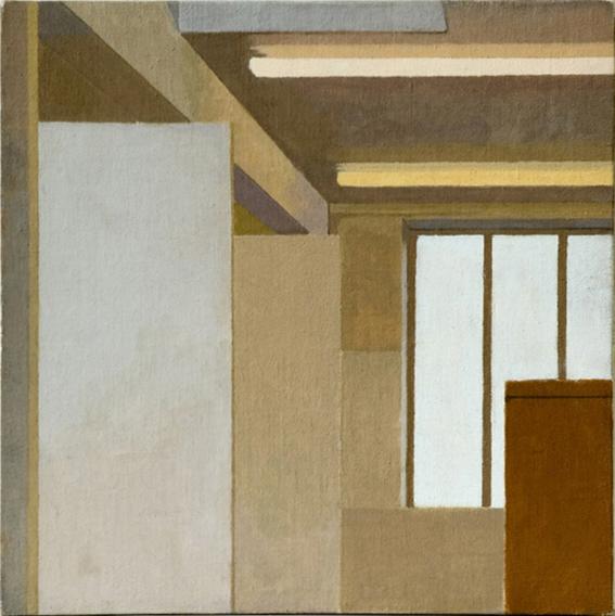 Studio Walls  (Oil on Canvas on Board, 300cm x 300 cm 2003)