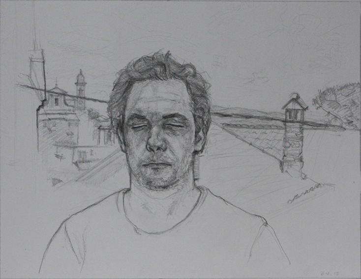 Cristallo, a Bracciano (Pencil on Paper, 219mm x 278mm, 2013)