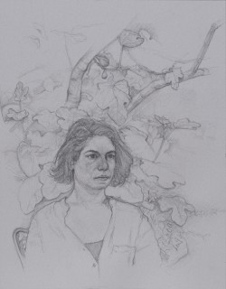 Vittoria (Pencil on Paper, 330mm x 257mm, 2014)