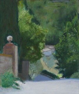 Driveway in Umbria in the Morning Sun (210mm x 174mm, 2017)