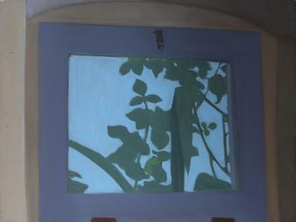 Dusty Window (Oil on Board, 300mm x 400mm, 2017)