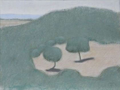 Remembered Trees (Pastel on Paper, 223mm x 299mm, 2017)