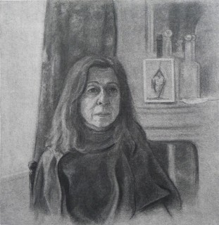 Nadira's Second (Charcoal on Paper, 45cm x 47cm, 2020)
